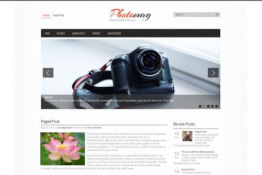 45 Fresh And Free Wordpress Themes 7