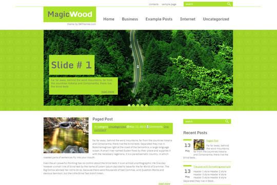 45 Fresh And Free Wordpress Themes 17