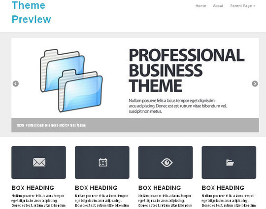 45 Fresh And Free Wordpress Themes 13