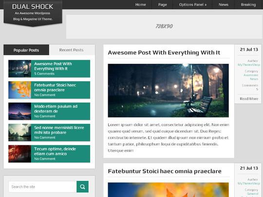 45 Fresh And Free Wordpress Themes 9