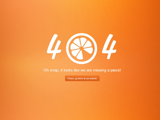 Examples Of Inspiring 404 Error Pages For Inspiration 6