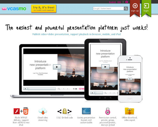 40+ Free Tools And Sites For Creating Presentations 12