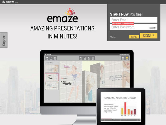 40+ Free Tools And Sites For Creating Presentations 20