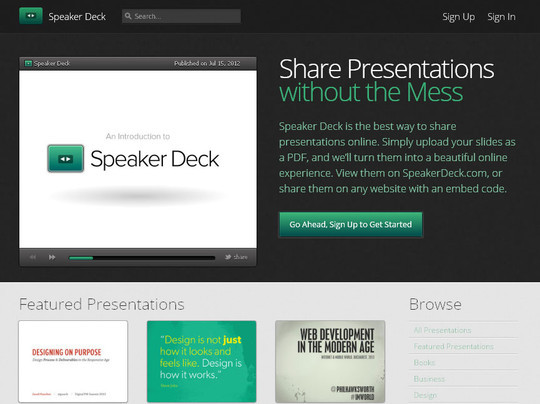 40+ Free Tools And Sites For Creating Presentations 26