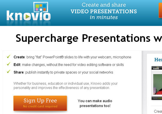 40+ Free Tools And Sites For Creating Presentations 8