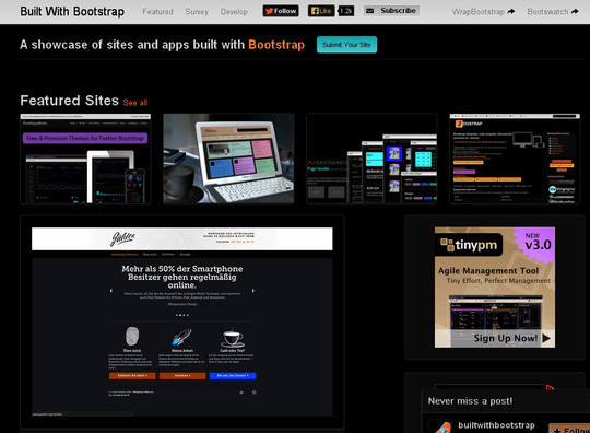 40 Useful Bootstrap Tools & Generators For Web Developers 23