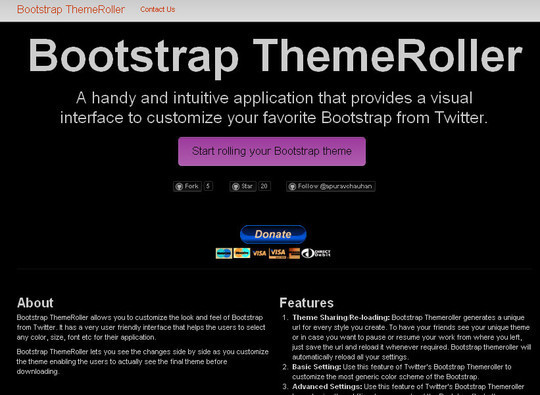 40 Useful Bootstrap Tools & Generators For Web Developers 37