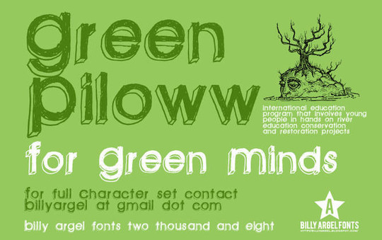 40 Creative And Free Hand Drawn Fonts 141