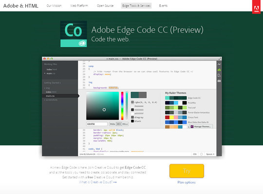 35 Best HTML5 Development Tools To Save Your Time 28