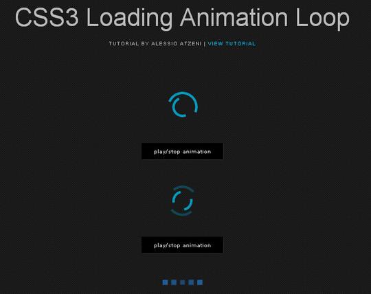 40 jQuery & CSS3 Loading Animation And Progress Bar Plugins 7