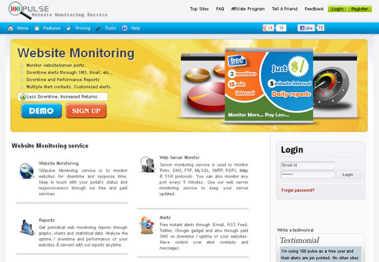 The Best Free & Premium Tools For Monitoring Your Website's Uptime 13