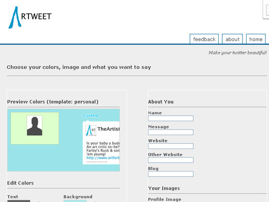 40 Twitter Tools, Resources & Creative Backgrounds 16