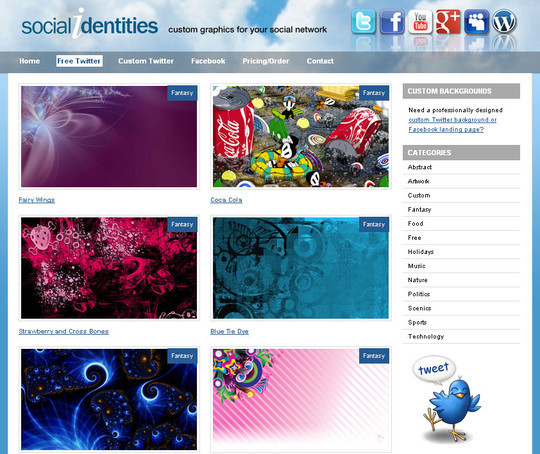40 Twitter Tools, Resources & Creative Backgrounds 17