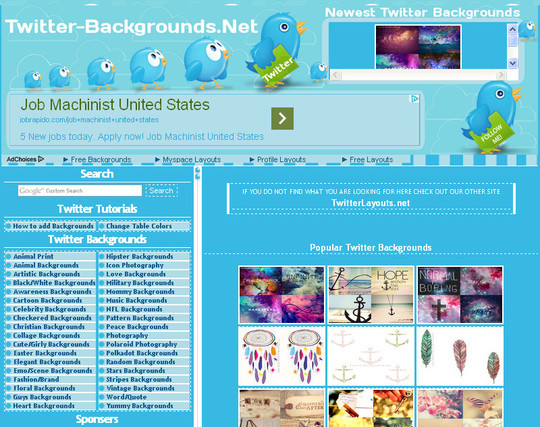 40 Twitter Tools, Resources & Creative Backgrounds 22