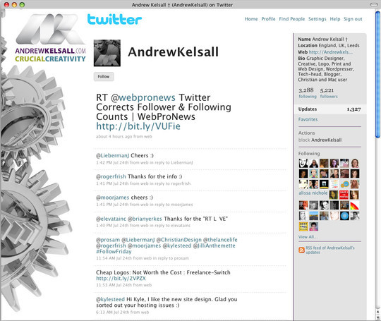 40 Twitter Tools, Resources & Creative Backgrounds 24