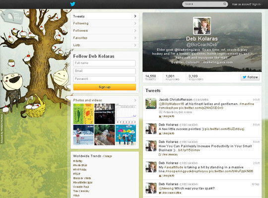 40 Twitter Tools, Resources & Creative Backgrounds 32