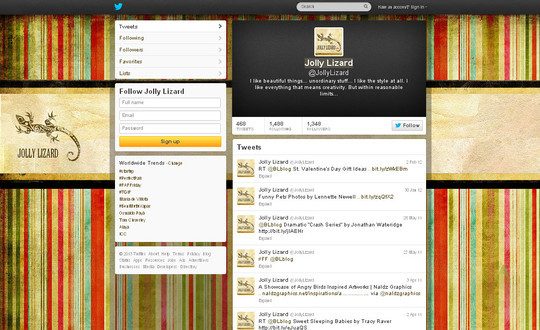 40 Twitter Tools, Resources & Creative Backgrounds 34