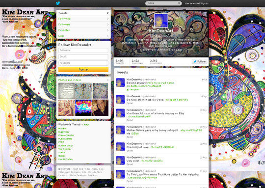 40 Twitter Tools, Resources & Creative Backgrounds 37