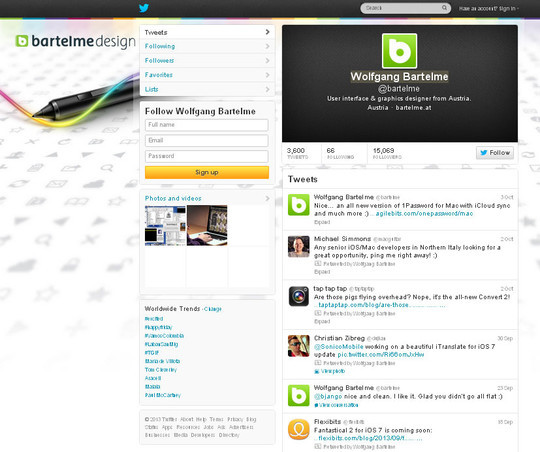 40 Twitter Tools, Resources & Creative Backgrounds 38