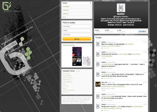 40 Twitter Tools, Resources & Creative Backgrounds 39