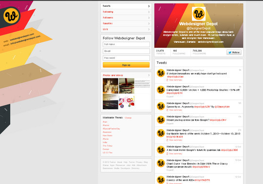 40 Twitter Tools, Resources & Creative Backgrounds 41