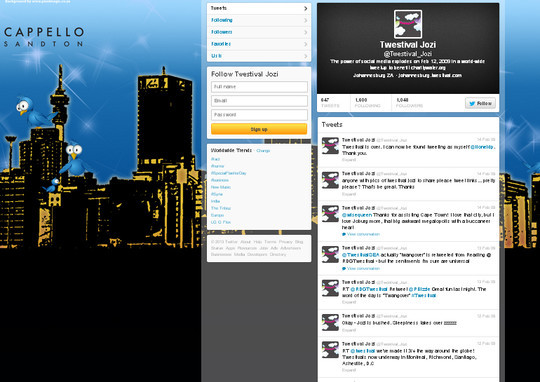 40 Twitter Tools, Resources & Creative Backgrounds 70