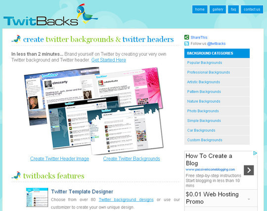 40 Twitter Tools, Resources & Creative Backgrounds 7