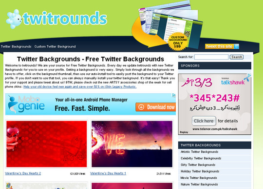 40 Twitter Tools, Resources & Creative Backgrounds 11