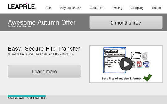15 Free Tools to Send Or Receive Large Files 13