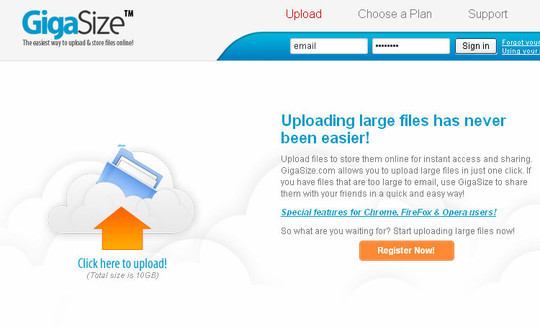 15 Free Tools to Send Or Receive Large Files 8