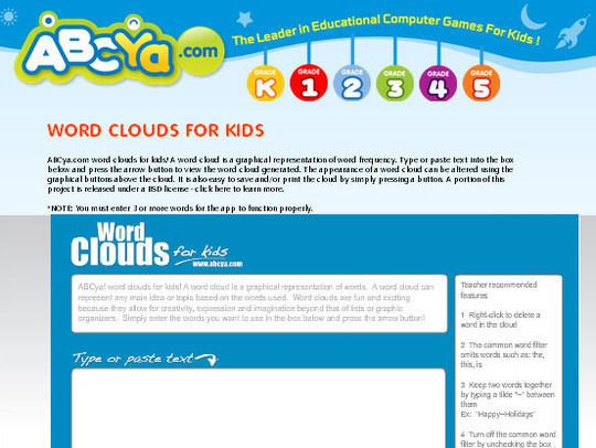 10 Amazing Word Cloud Generators 11