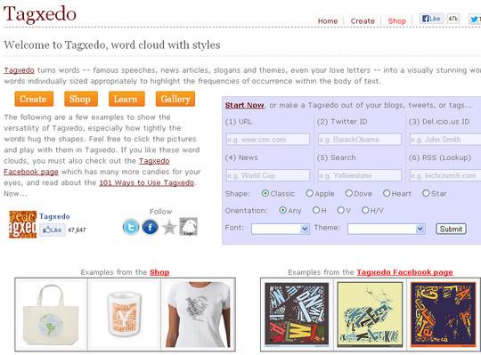 10 Amazing Word Cloud Generators 6