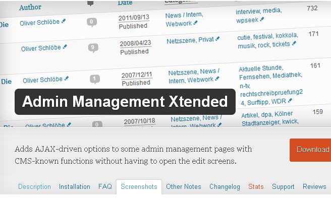 Top 40 Wordpress Plugins For Blog Administrators 4