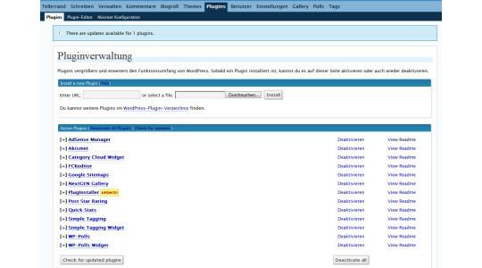 Top 40 Wordpress Plugins For Blog Administrators 10