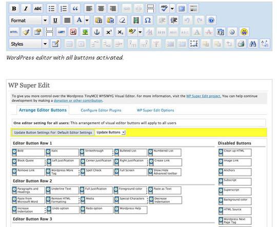 Top 40 Wordpress Plugins For Blog Administrators 5