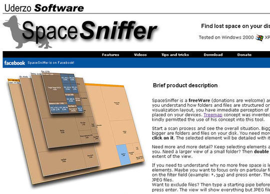 8 Free Hard Drive Space Analyzers 9