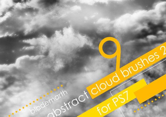 15 Free Cloud Vector Brush Sets 7