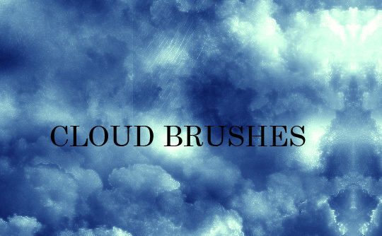 15 Free Cloud Vector Brush Sets 8