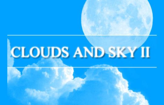 15 Free Cloud Vector Brush Sets 10