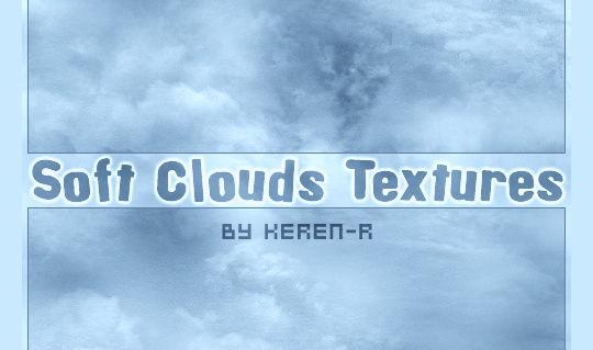 15 Free Cloud Vector Brush Sets 11