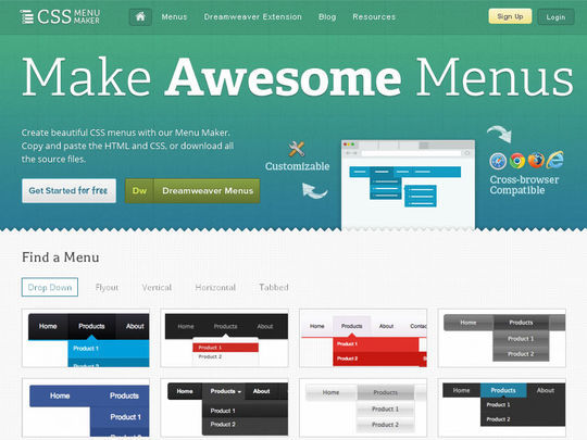 12 Powerful Tools For Quick CSS Development 45