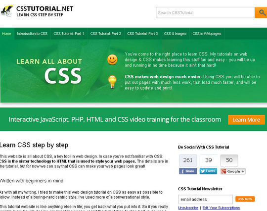 Useful Collection Of Free CSS Libraries & Resources 16
