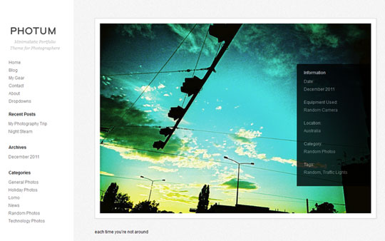 Must See Collection Of Flat WordPress Themes 409
