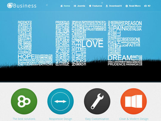 15 Best Joomla Templates For Web Designers 14