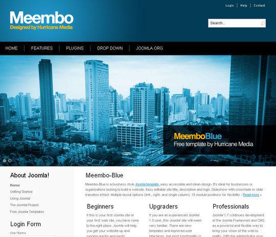 15 Best Joomla Templates For Web Designers 9