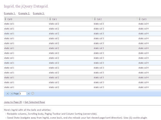 Collection Of jQuery Plugins For Filtering And Sorting Items 6