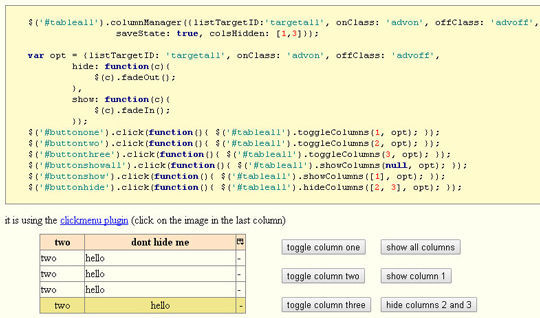 Collection Of jQuery Plugins For Filtering And Sorting Items 9