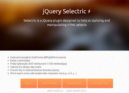50 Fresh jQuery Plugins For Web Developers 4