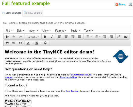40 Excellent Online Real-Time HTML Editors 8
