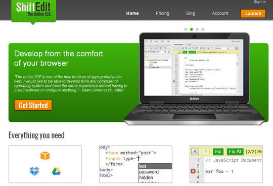 40 Excellent Online Real-Time HTML Editors 22